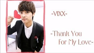 VIXX - Thank You For My Love (Eng Sub)