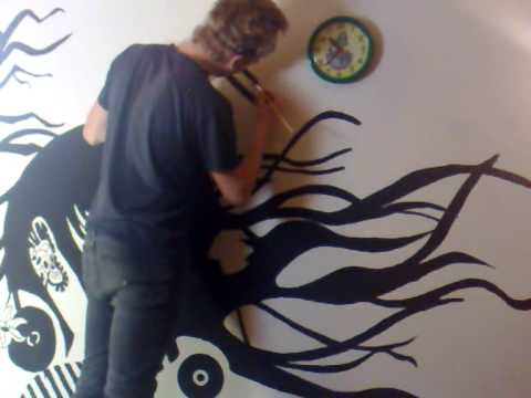 2006 9 11 16 doovi - Painting a black wall white ...