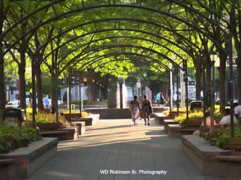 Cincinnati downtown buildings & Parks