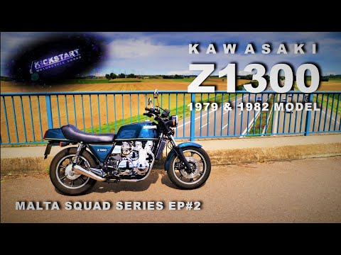 "Kawasaki Z1300 (1979/1982 Model) - The ""Autobahn Stormer - Legendary Six"" - Malta Squad Series Ep#2"