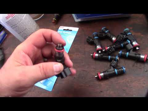 Homemade EV14 fuel Injector cleaning reverse back flush tool