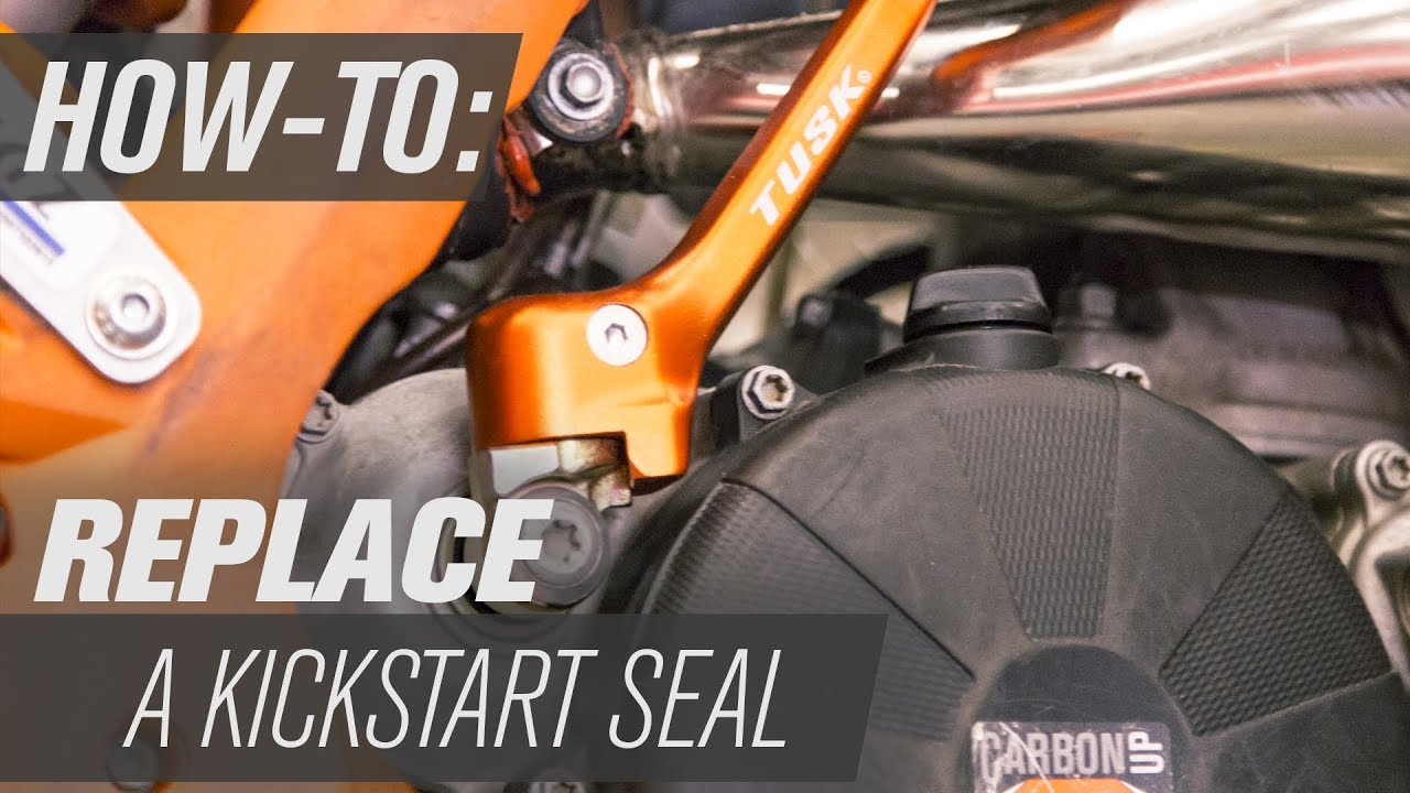 How To Replace a Kickstart Seal On a Dirt Bike