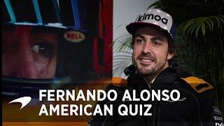 The Big American Quiz | Fernando Alonso