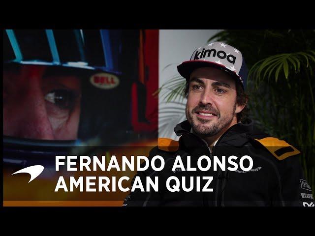The Big American Quiz   Fernando Alonso