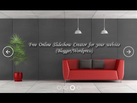Free Online Slideshow Creator HTML