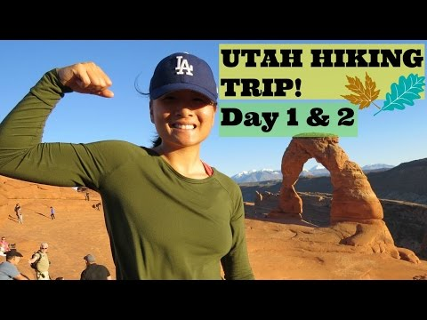 UTAH HIKING TRIP! feat. Monument Valley, Arches National Park