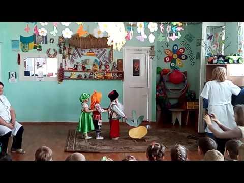 Театрализация сказки Репка (младшая группа, 2-3 года)