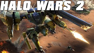 Halo Wars 2 Multiplayer 2v2 - Metal Gear Army
