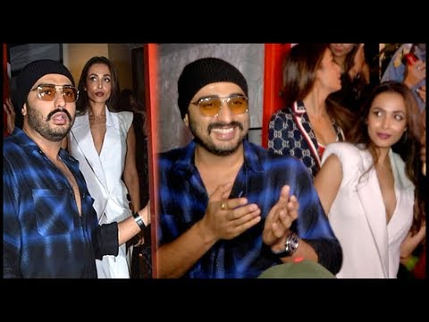 Arjun Kapoor PROTECTS Malaika Arora From Crowd And Media At Gauri Khan Dinner Party