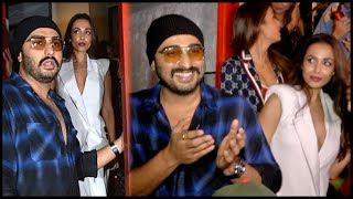 Arjun Kapoor PROTECTS Malaika Arora From Crowd And Media At Gauri Khan Dinner Party