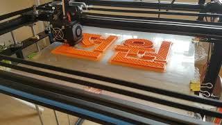 3D printer  Tronxy  x5sa  hbot to  corexy upgrade