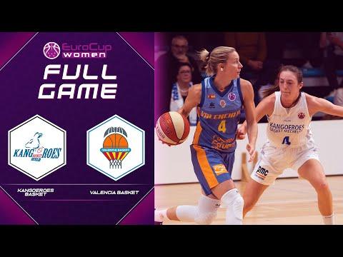LIVE - Kangoeroes Basket v Valencia BC   EuroCup Women 2021-22