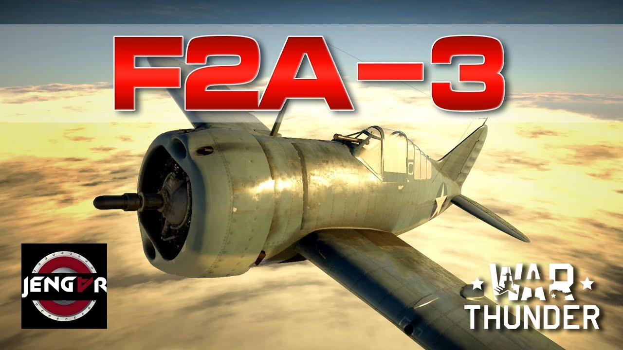 war thunder f2a 3 buffalo