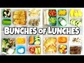 School LUNCH Ideas for OLDER KIDS  🍎 Bunches of Lunches