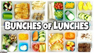 School LUNCH Ideas for OLDER KIDS  ???? Bunches of Lunches
