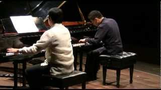Rachmaninoff - Piano Concerto No.2 (two piano version) - Enzo & Jourdann
