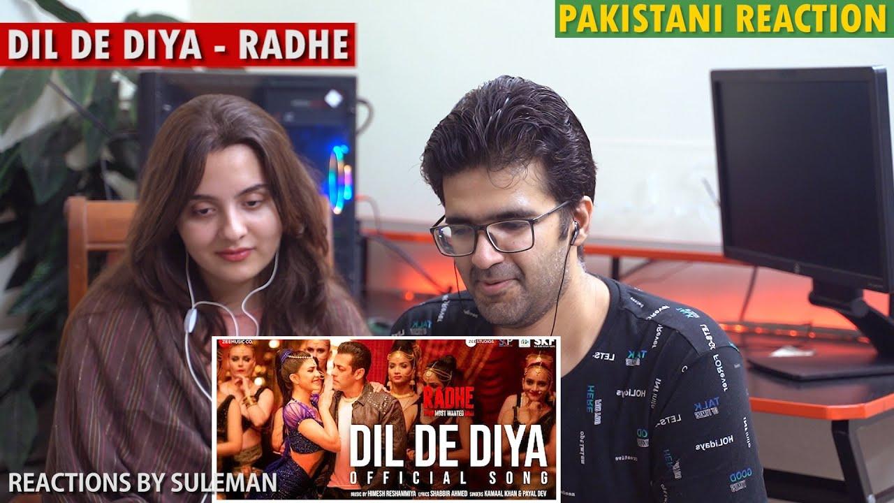 Pakistani Couple Reacts To Dil De Diya - Radhe |Salman Khan, Jacqueline Fernandez |Himesh Reshammiya