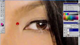 Part 1  KC Concepcion change eyes color, lips and a little face powder (Photoshop) Thumbnail