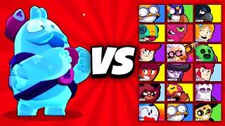 SQUEAK vs ALLE BRAWLER IM 1 VS 1! (SQUEAK ist OP?! 😨) | Brawl Stars deutsch