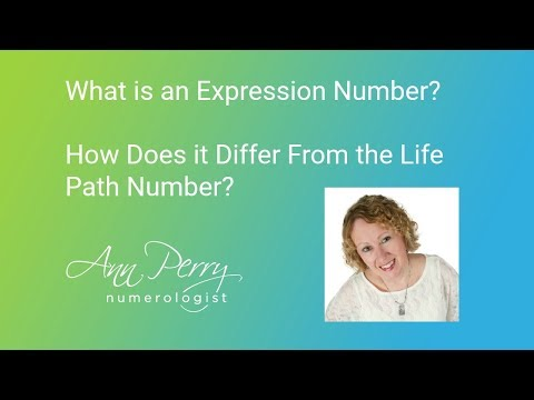 What is an Expression Number & How Does it Differ from a Life Path Number?