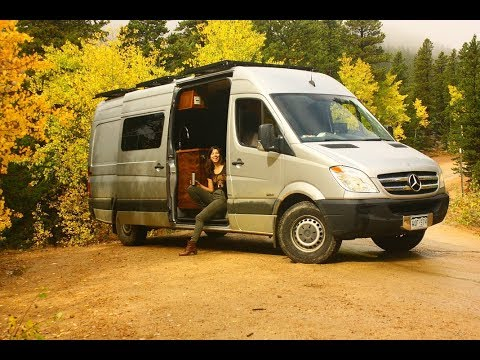 cda55335e86 Titan Vans - Mercedes Sprinter Luxury Build Walk Through - YouTube