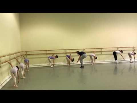 Little Dance Academy students in Russian.
