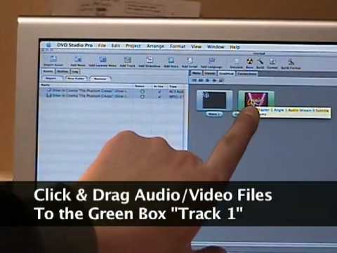 How To Make A DVD Using DVD Studio Pro 4