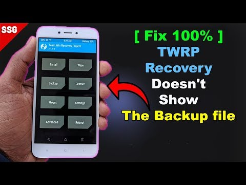 [SOLVED] TWRP recovery doesn't show the backup file, problem with restoring nandroid