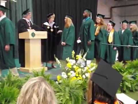 Graduating from Morrisville State College