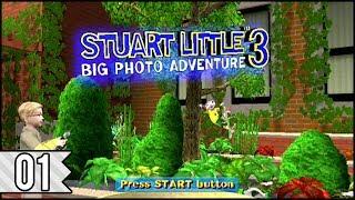 Stuart Little 3: Big Photo Adventure (PS2) - Area 1: Garden, Part 1 (100%) | No Commentary