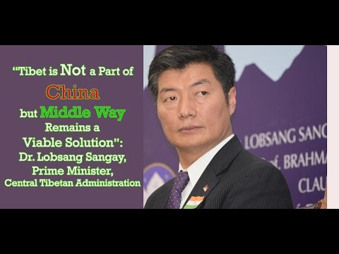 Dr. Lobsang Sangay, PM, Central Tibetan Administration, Reminds of Chinese Atrocities