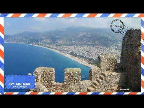 Alanya Castle in Alanya, Turkey - Alanya Kalesi - Alanya attractions and viewpoints