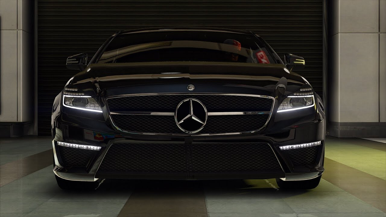 GTA 5 car mod Mercedes-Benz CLS AMG - YouTube