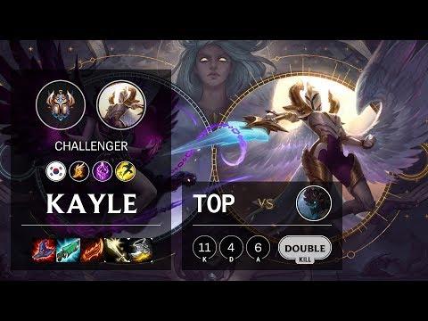 Kayle Top Vs Maokai - KR Challenger Patch 10.4
