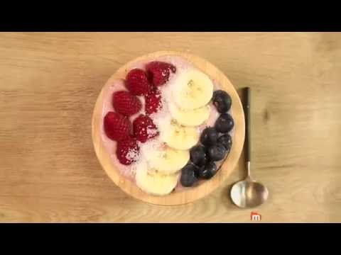 Smoothie bowl aux framboises