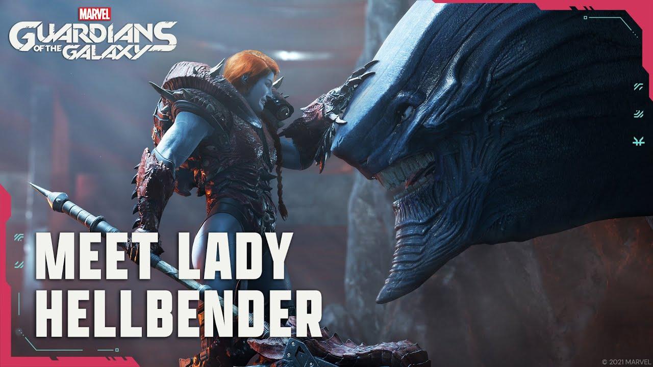 Marvel's Guardians of the Galaxy - Lady Hellbender Cutscene