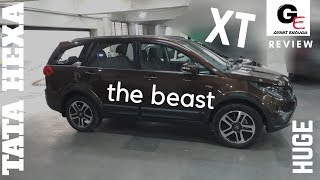 Tata Hexa xt  2018 edition | detailed review in hindi | interiors & exteriors !!!!!!