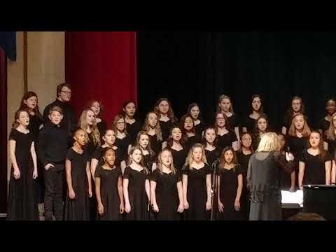 Winter concert at Bonaire Middle School 2018