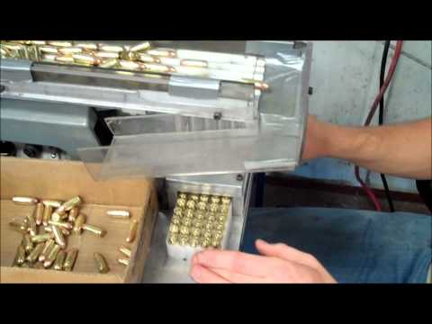 Camdex Ammunition Boxing Machine