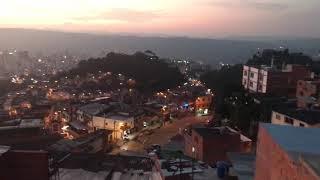 Bucaramanga Vista desde Miramanga en los cerros Orientales