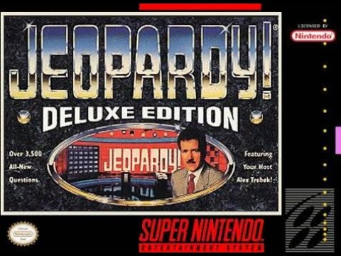 SNES Jeopardy! Deluxe Edition ORIGINAL RUN Game #2 Redemption