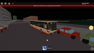 Roblox London Hackney & Limehouse bus Simulator E200MMC Loan from SCARLETBAND CTP Route 309(Night)