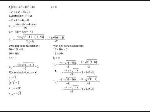 Nullstelle einer linearen Funktion - Ganzrationale Funktionen - einfach und anschaulich erklärt from YouTube · Duration:  6 minutes 18 seconds