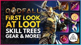 GODFALL | First L๐ok at Loot, Skill Trees, Progression & More!