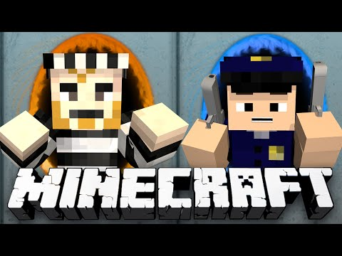 Minecraft: MODDED COPS N' ROBBERS! - (Minecraft Portal Mod)