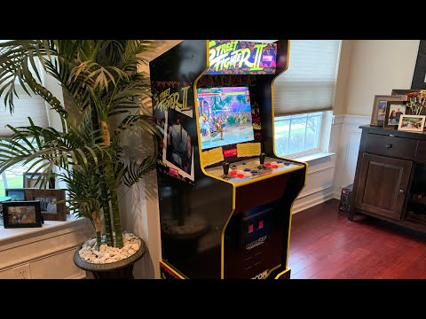 CAPCOM LEGACY CABINET Arcade1up FULL REVIEW! from The 3rd Floor Arcade with Jason