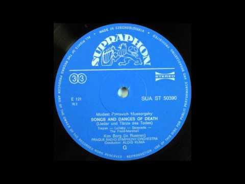 Kim Borg Sings Mussorgsky -- Songs , side 1