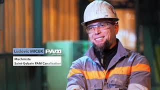 Le métier de machiniste | Saint-Gobain PAM Canalisation
