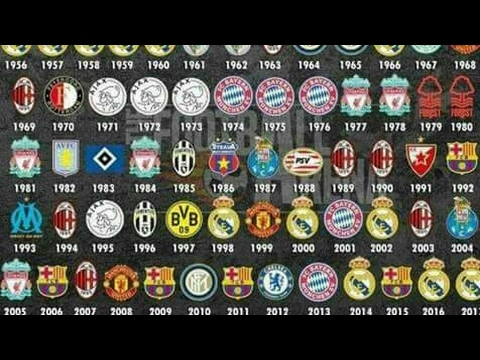 All UEFA Champions League Winners List (1955/1956- 2016/2017 )