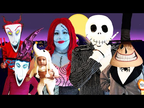 The Nightmare Before Christmas | Makeup Halloween Costumes And Toys